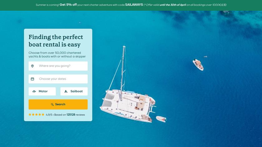 Samboat Landing Page