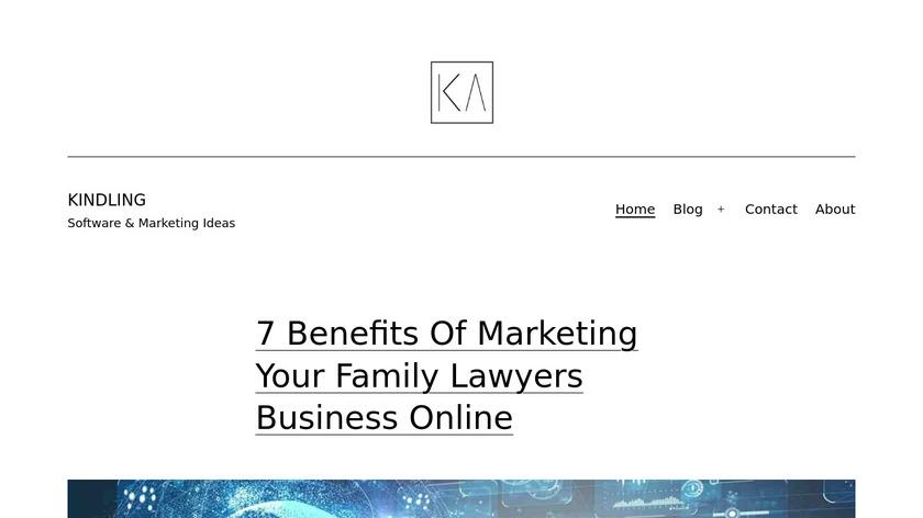 Kindling Landing Page