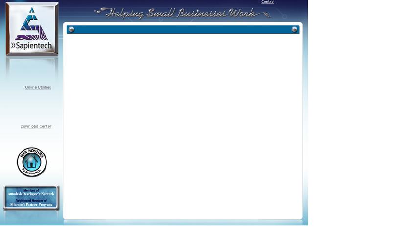 InTrek Landing Page