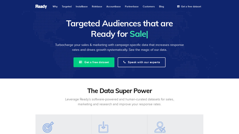 ReadyContacts Landing Page