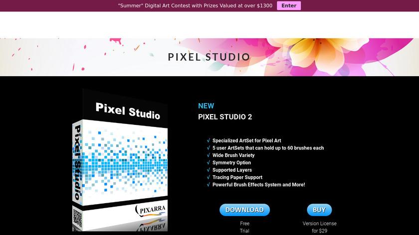 Pixel Studio Landing Page