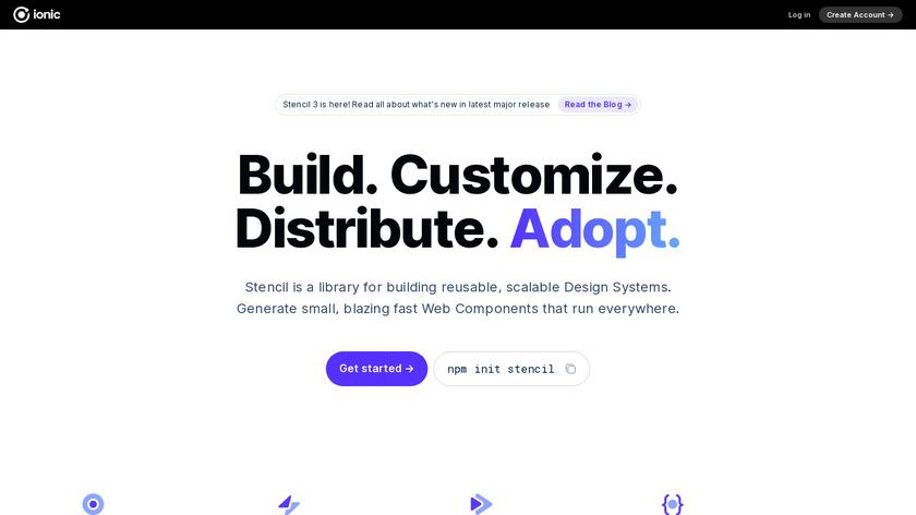 stenciljs Landing Page