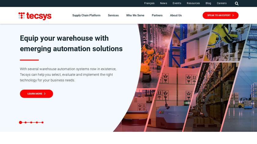Tecsys Landing Page