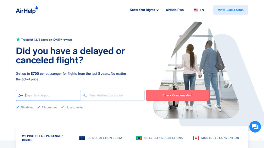 AirHelp Landing Page