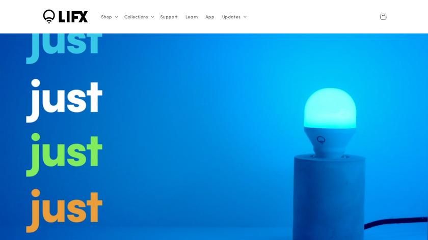 LIFX Landing Page