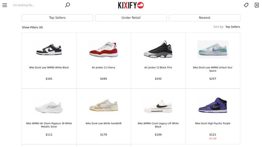 Kixify Landing Page