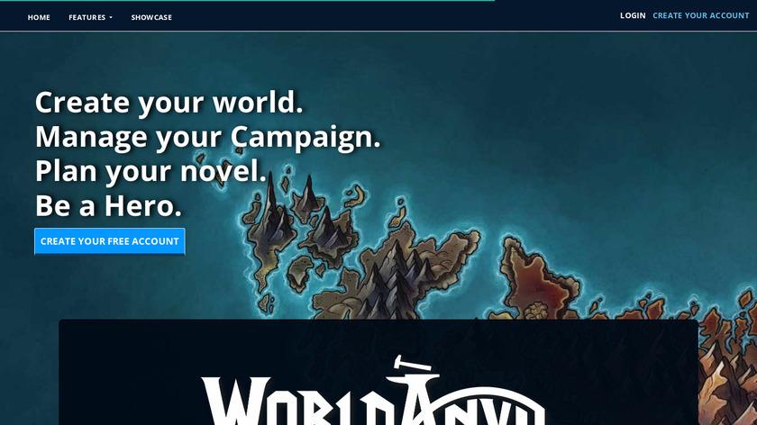 World Anvil Landing Page