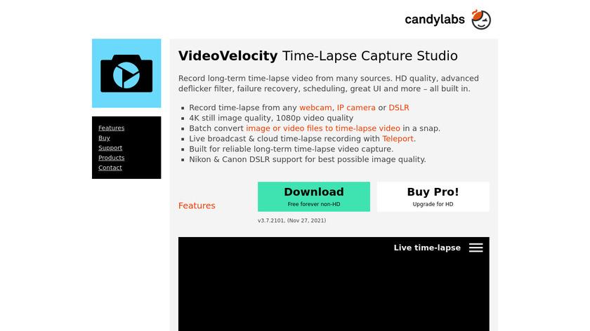 VideoVelocity Landing Page