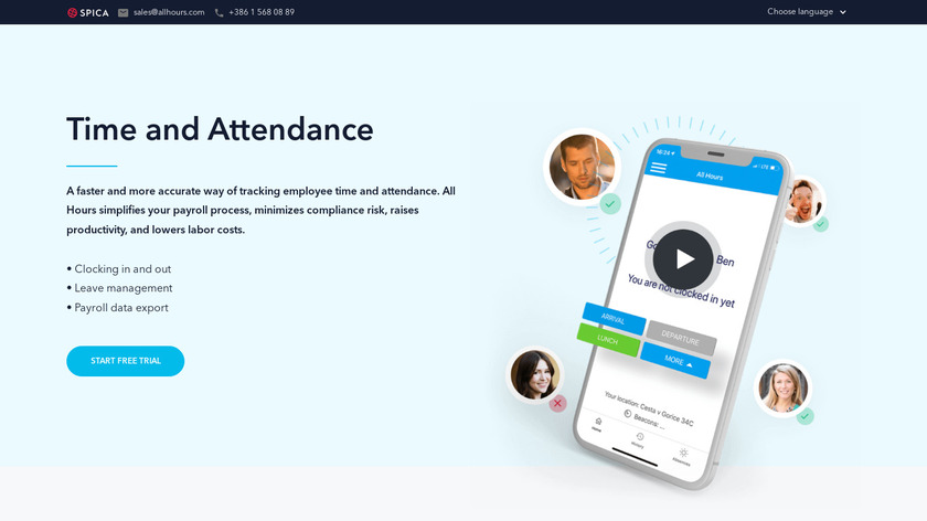 All Hours Landing Page