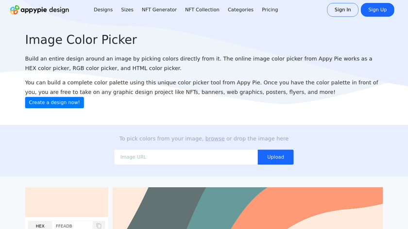 Image-Color.com Landing Page