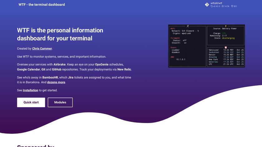 WTFUtil Landing Page