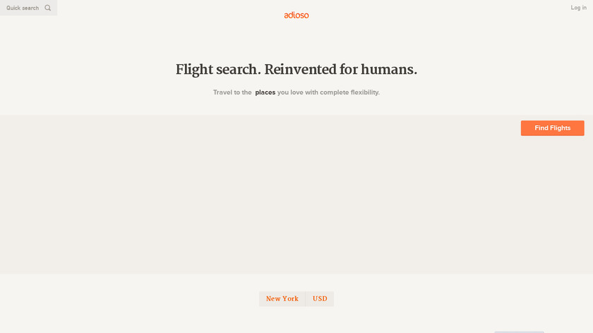 Adioso Landing Page