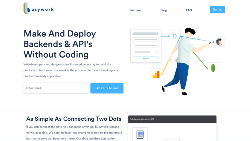 Busywork Landing Page