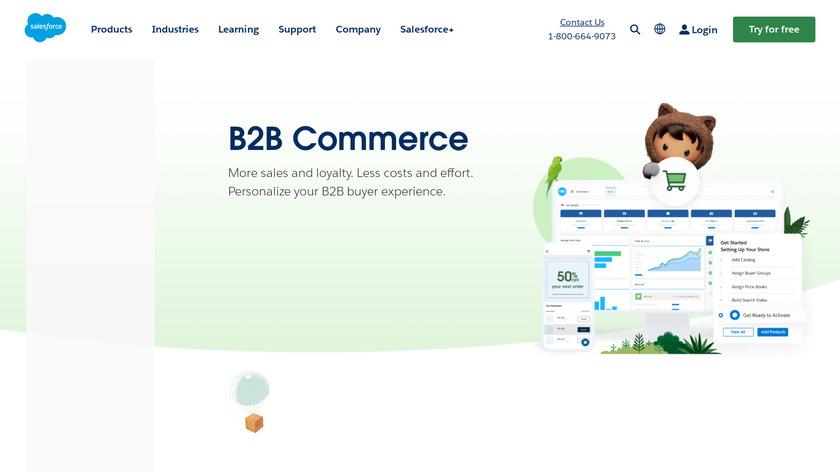 CloudCraze Landing Page