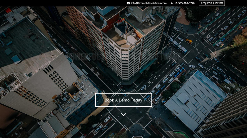Taxi Mobile Solutions Landing Page