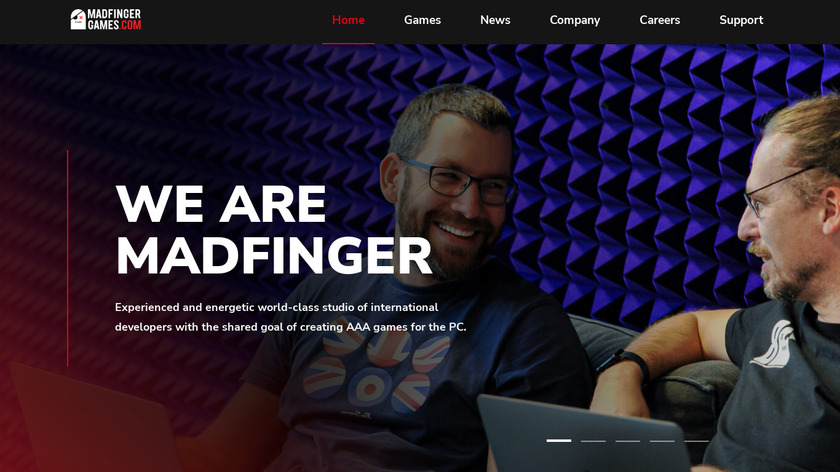 DEAD TRIGGER Landing Page