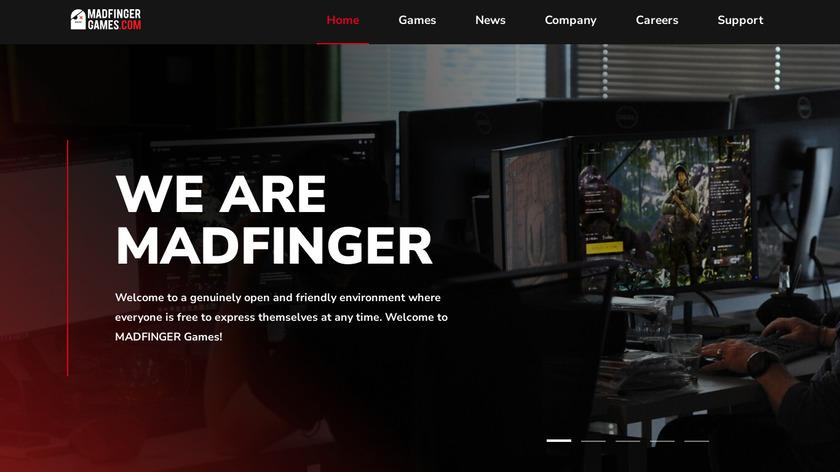DEAD TRIGGER Landing Page