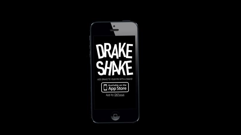 Drake Shake Landing Page