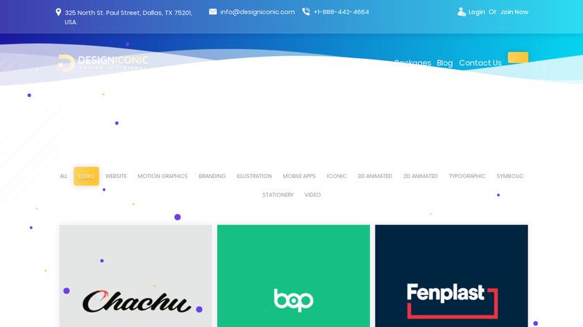 Design Iconic Landing Page