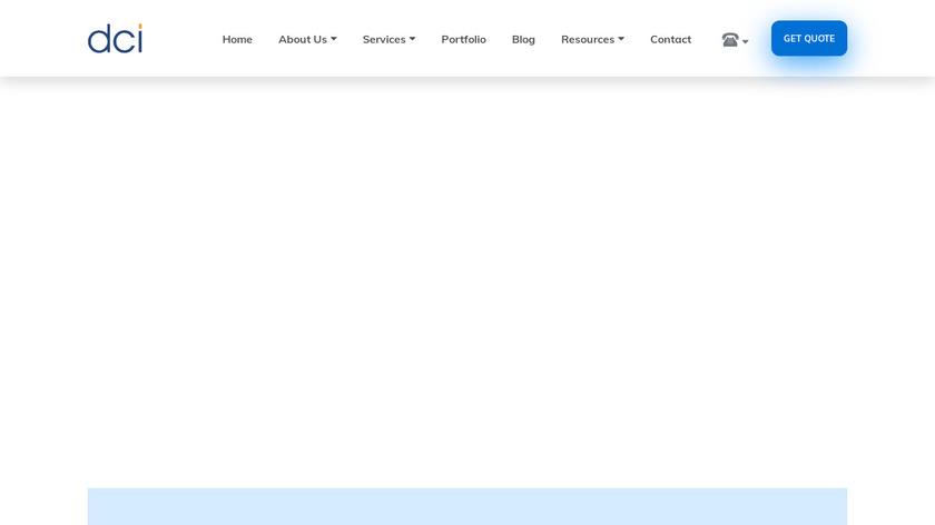 Bellatrix Landing Page