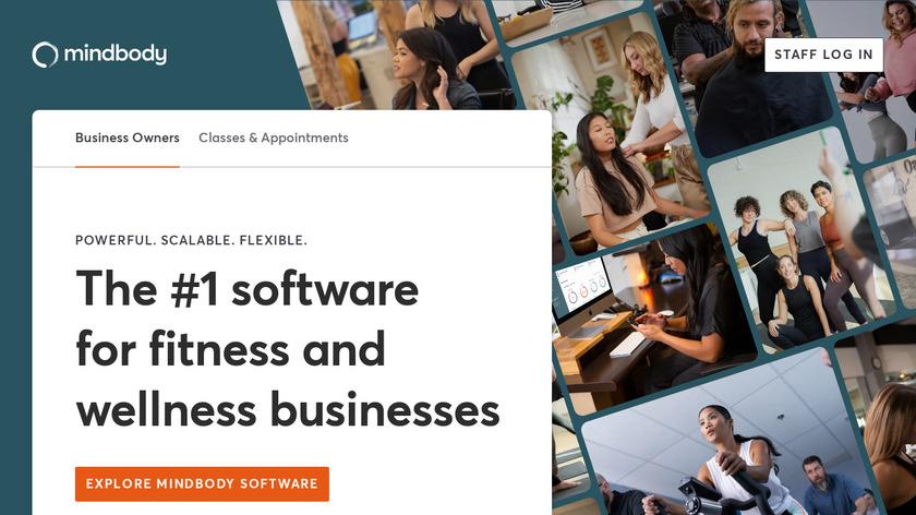 MINDBODY Landing Page