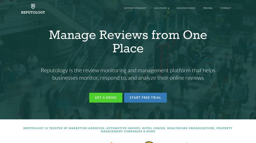 REPUTOLOGY Landing Page