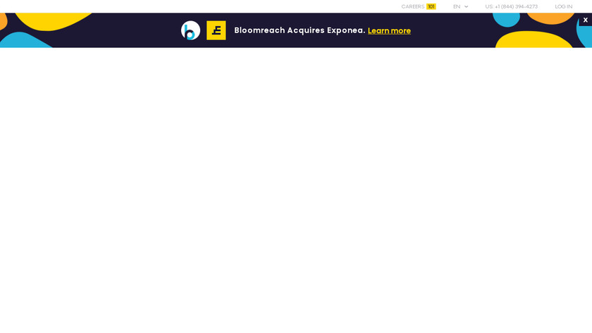 Exponea Landing Page