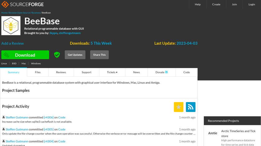 MUIbase Landing Page