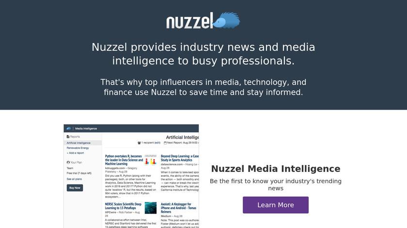 Nuzzel Landing Page