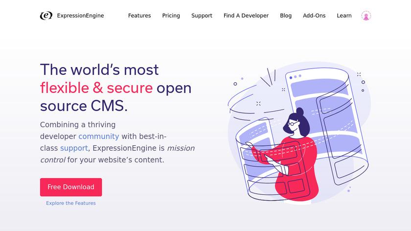 ExpressionEngine Landing Page
