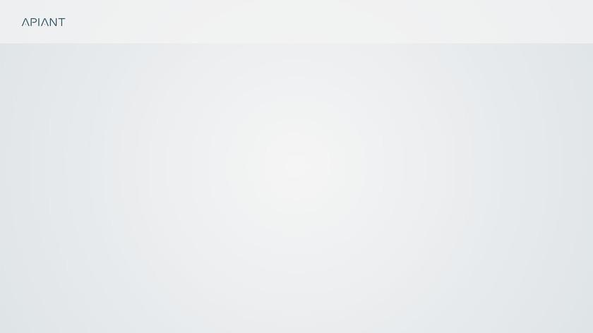 APIANT Landing Page