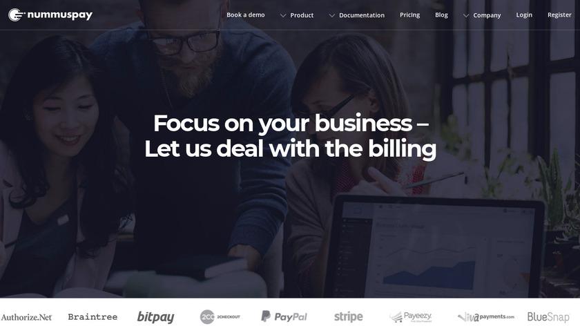 Nummuspay.com Landing Page