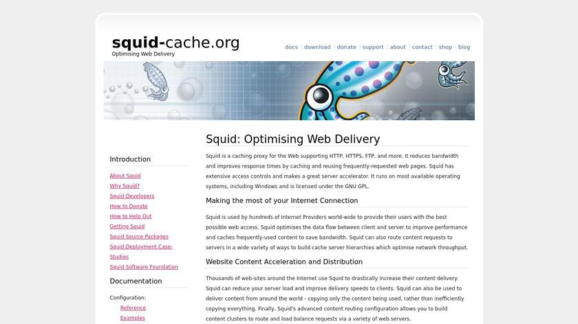 Squid Proxy Server Landing Page