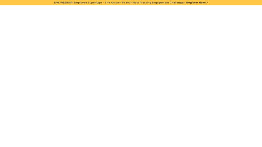 MangoApps Landing Page