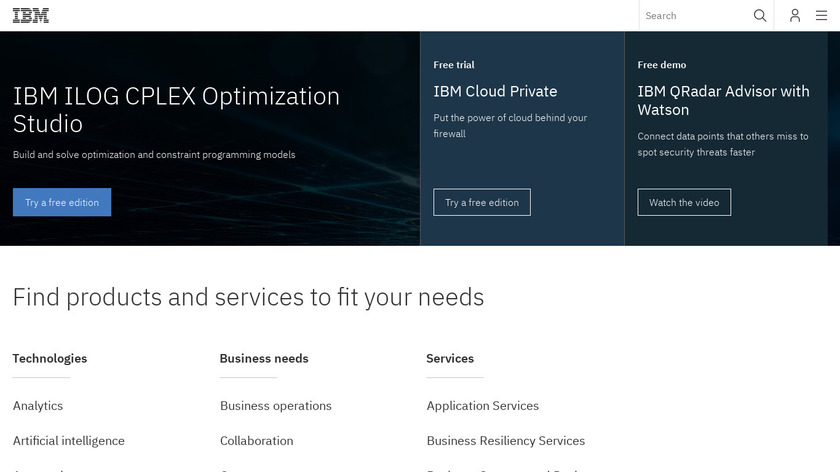 IBM Connections Landing Page