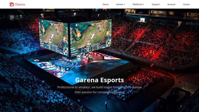 Garena Plus Landing Page