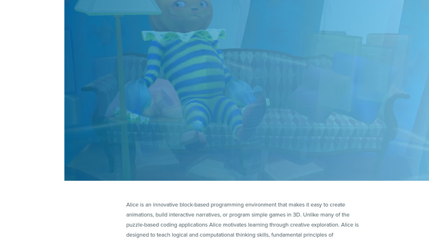 Alice Landing Page