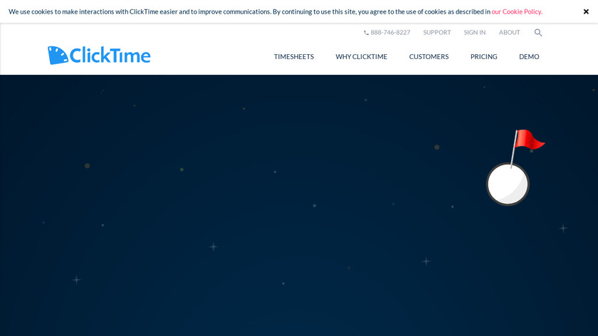 ClickTime Landing Page
