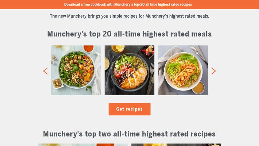 Munchery Landing Page