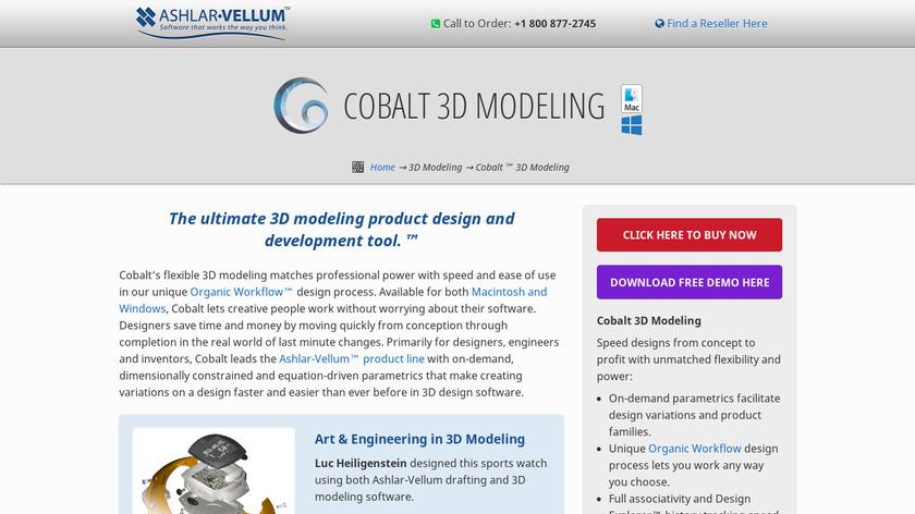 Cobalt Landing Page