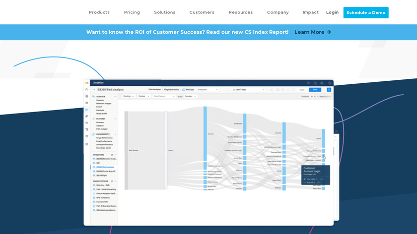 Gainsight Landing Page