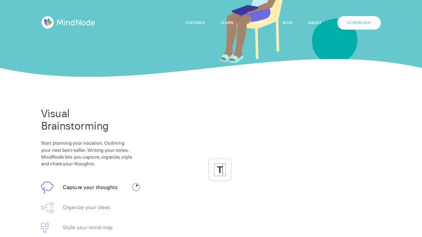 MindNode Landing Page