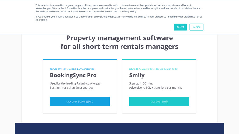 BookingSync Landing Page