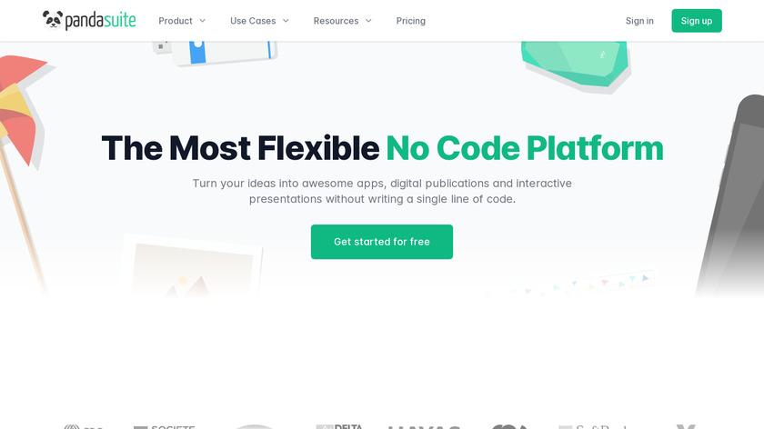 PandaSuite Landing Page