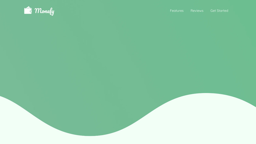 Monefy Landing Page