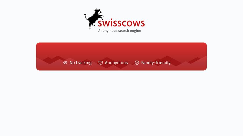 Swisscows Landing Page