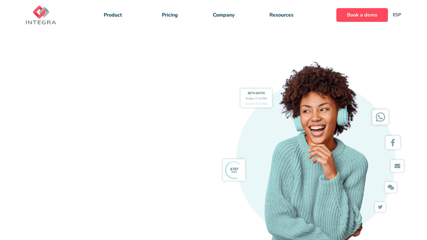 uContact Landing Page