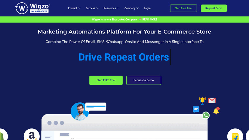 Wigzo Landing Page