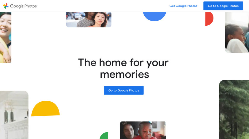 Google Photos Landing Page