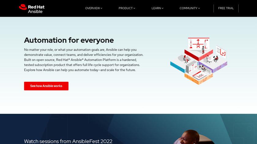 Ansible Landing Page